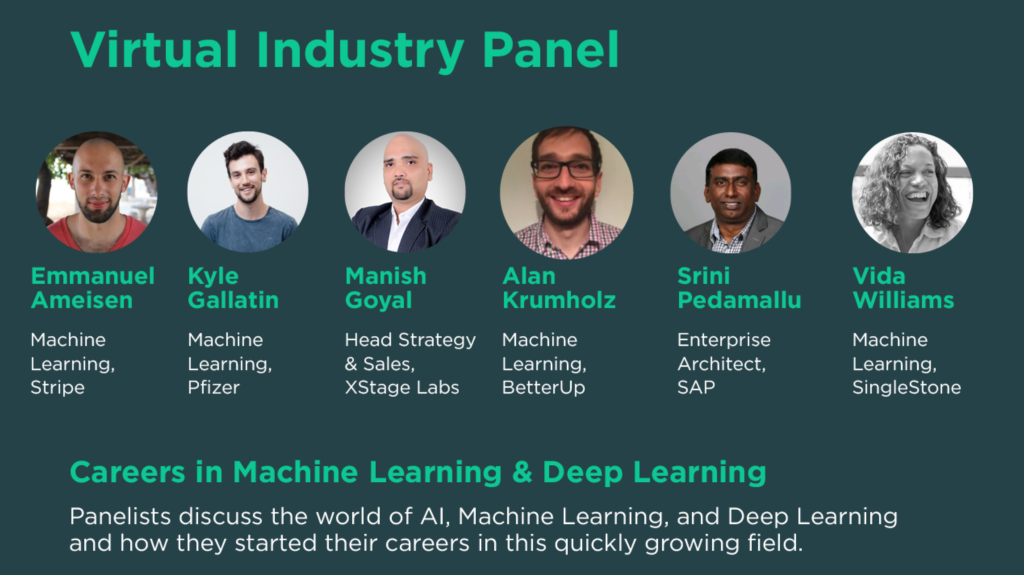 Machine and deep learning - virtual industry panel