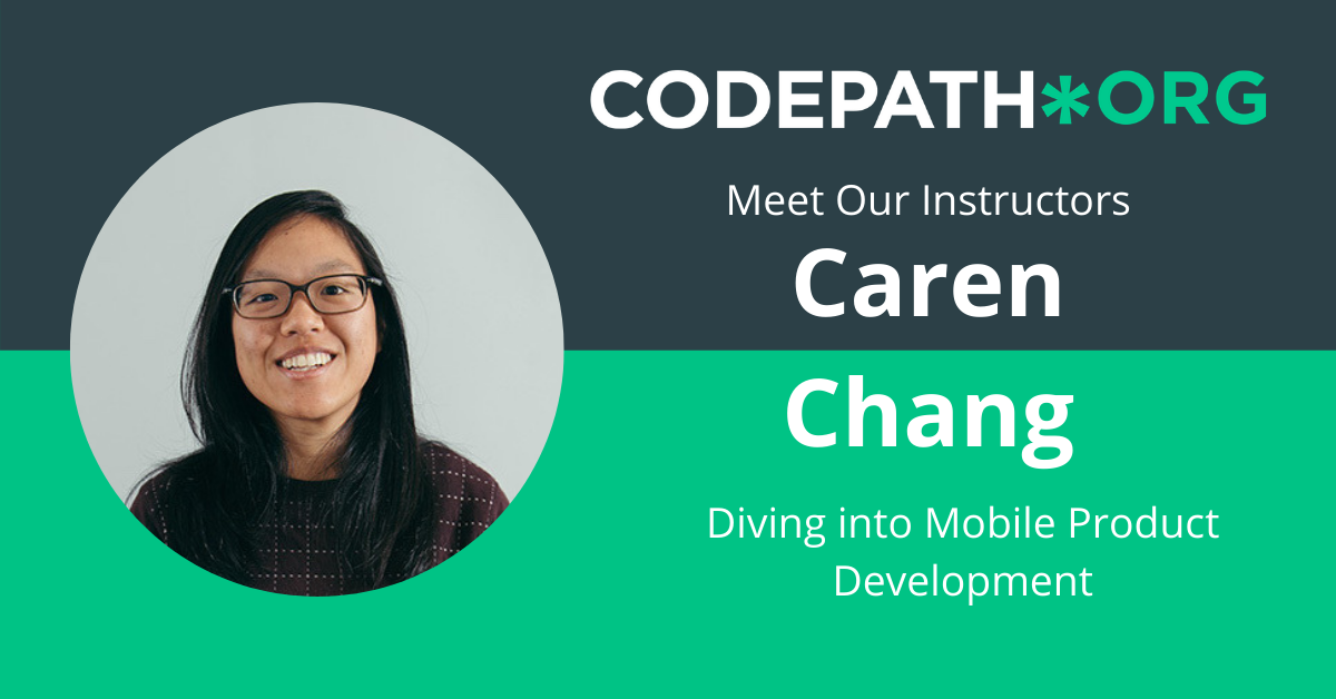 Mobile Product Development - Caren Chang