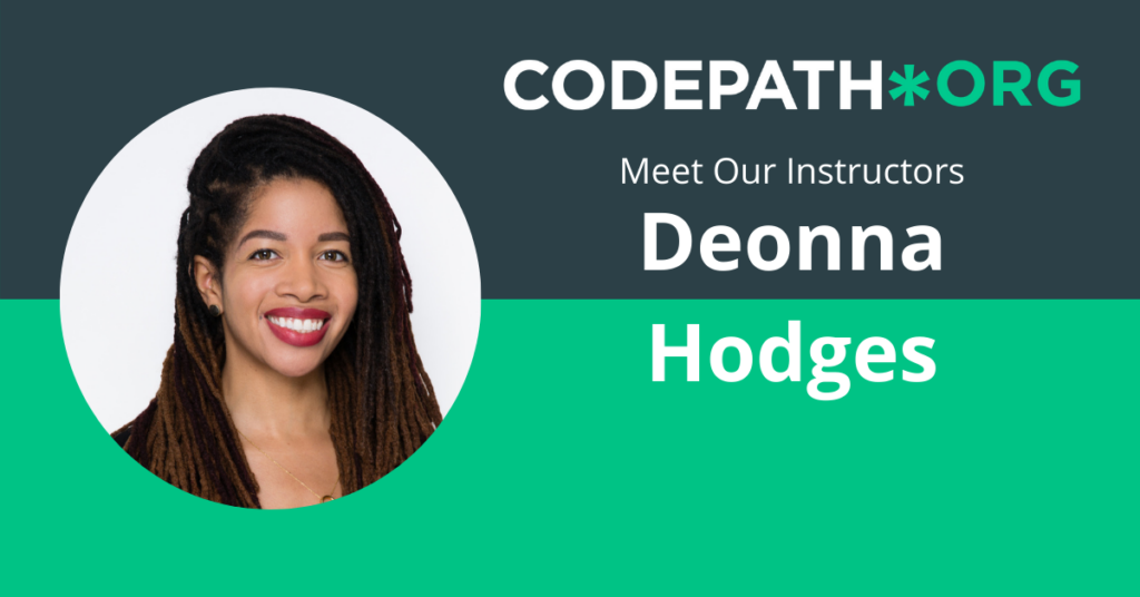 Meet Our Instructors: Deonna Hodges